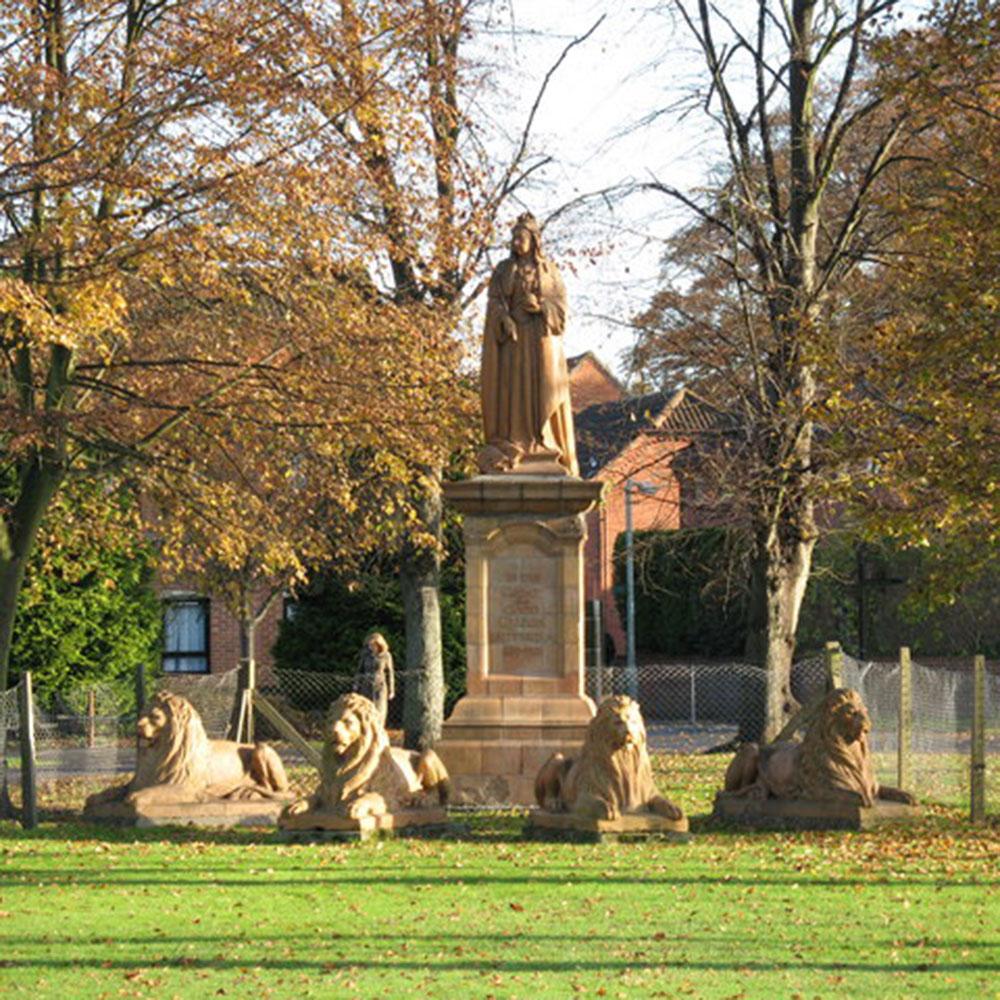 Wiener Museum Queen Victoria's Statue Victoria Park