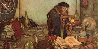 Wiener Museum Dulac Alchemist