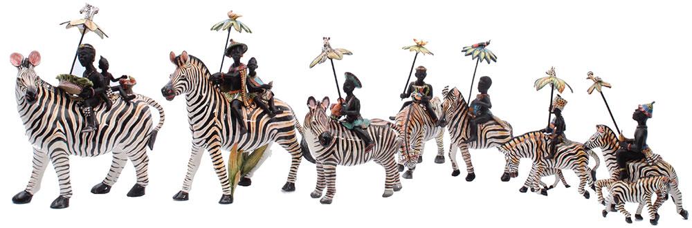 Wiener Museum Ardmore Zebras