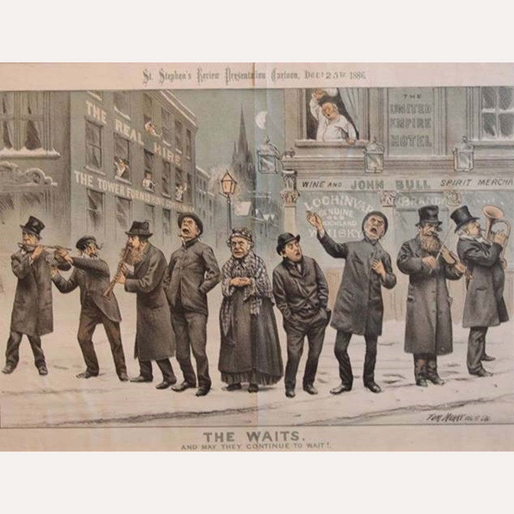 Wiener Museum 1886 Christmas Waits Tomhughes