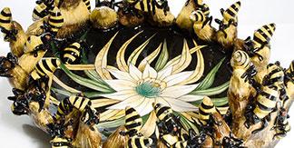 Wiener Museum Bees Tray Victor