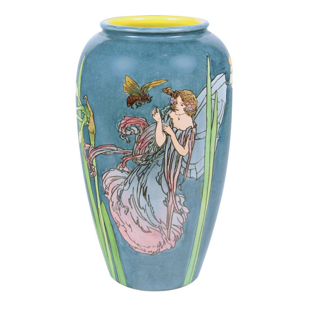 Wiener Museum Blue Vase