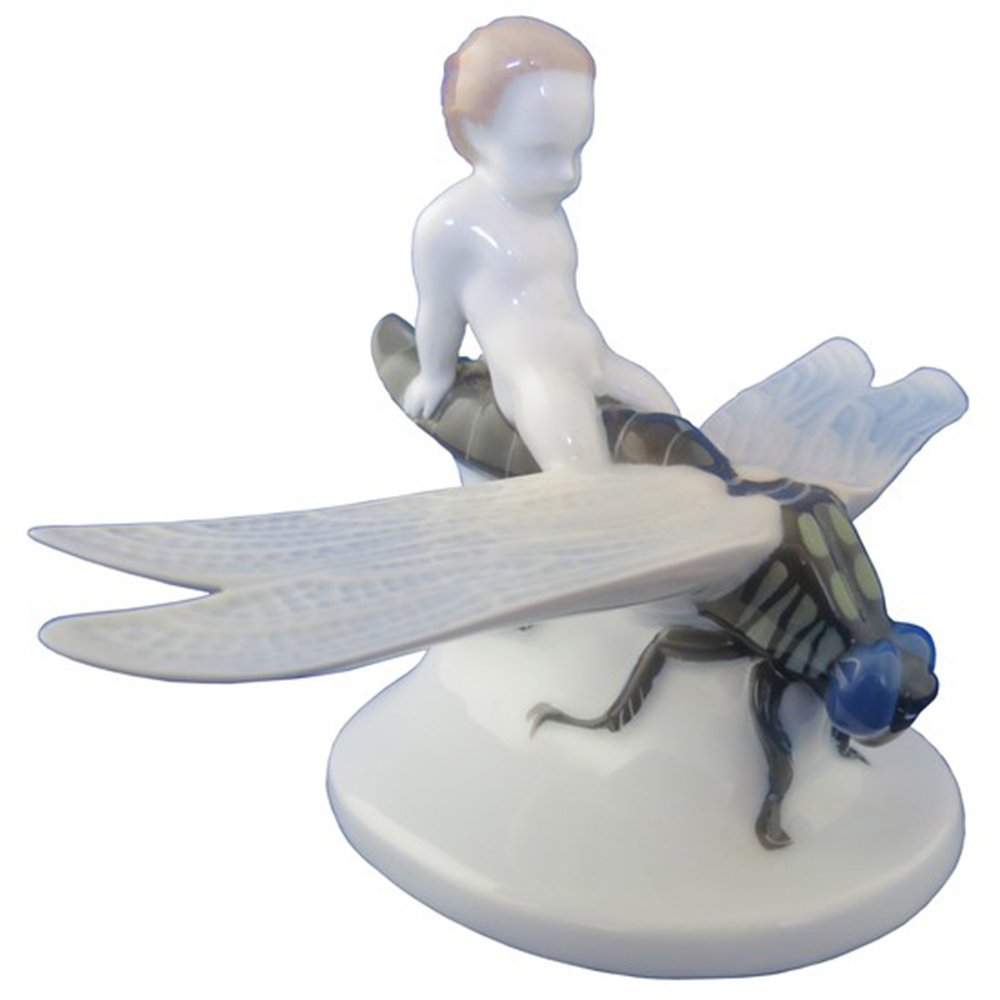 Wiener Museum Rosenthal Porcelain Dragonfly