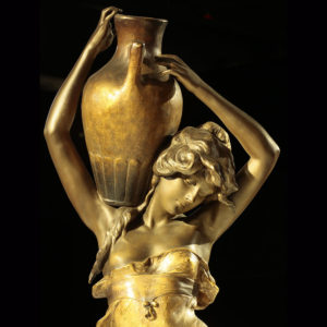 WMODA-Goldscheider Vase Carrier #2238 by Haniroff c.1901